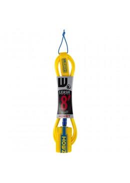 leash straight 8' yellow