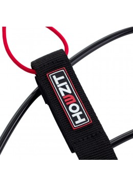 Stand-up paddle 8' black straight leash