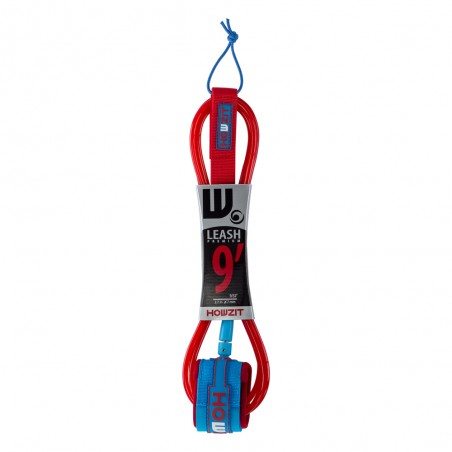 Leash Premium SUP 9' - Blue/ Red
