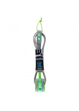 Leash Premium SUP 10' - Silver / Lime