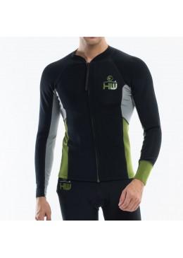 copy of Man Jacket Neoprene  Black / Aqua