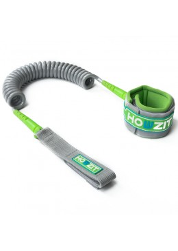 Leash Coiled SUP 9' - Silver / Lime