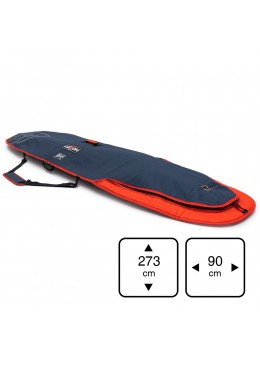Housse de transport motif navy et orange pour stand-up paddle 8