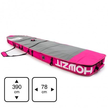 boardbag Race 12'6  XL Grey / Pink