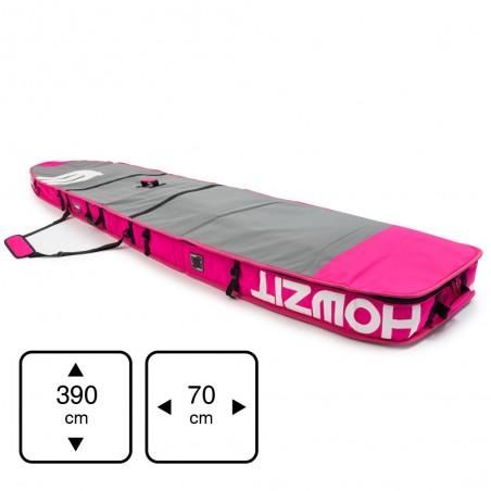 boardbag 12'6  Grey / Pink