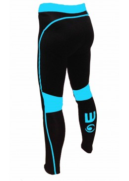 Women Pant Neoprene Black / Teal