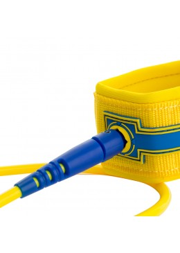 Leash Premium SURF  6' / 7 MM - Yellow
