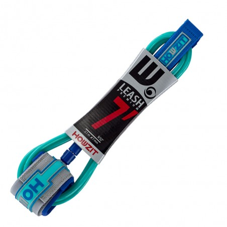 leash straight 7' navy for surf