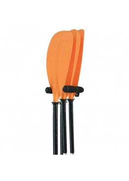 Wall rack holders for kayak paddle