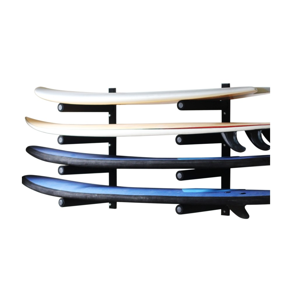Rack horizontal pour 4 surfboards