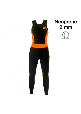 Longlady Neoprene black / néon
