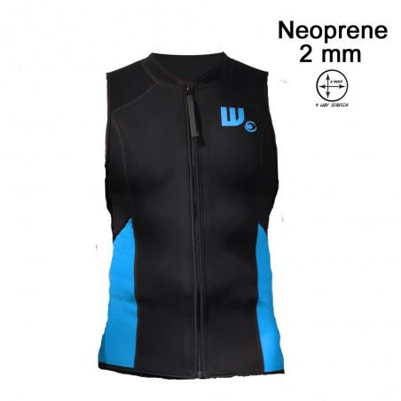Gilet SUP Neoprene Homme Black / Aqua