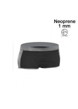 Short HOTTIE 1 MM Néoprène Femme Grey / Black