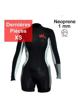 Shorty Néoprene Femme Black / White
