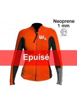 Veste LUNA Néoprène 2 Mm Néon / Black