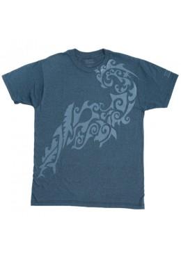T-shirt KIALOA tatoo bleu