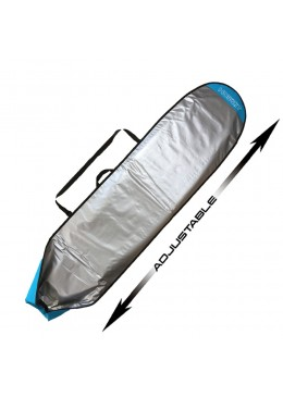 Boardbag Surf Adjustable from 7' to 8'6 Blue