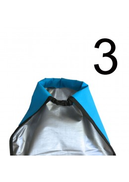 Boardbag Surf Adjustable from 6' to 7' Blue