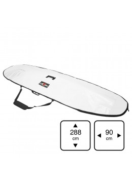 Housse 9' Stand-up Paddle Blanc