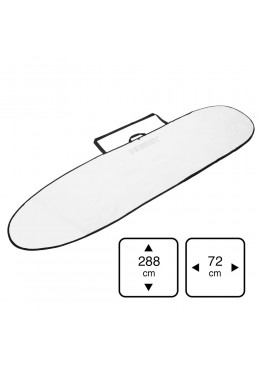 Housse Longboard 9' white for longboard surf ou mini malibu