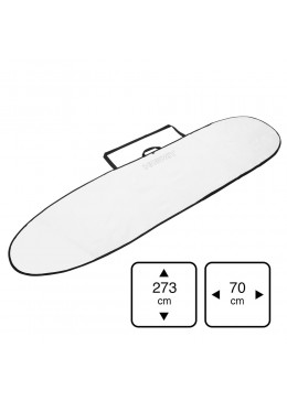 Housse Longboard 8'6 white for longboard surf ou mini malibu
