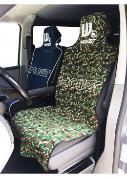 neoprene Seat Cover - Black