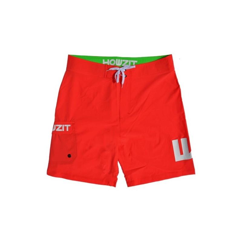 Boardshort Homme Howzit W  rouge