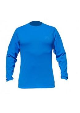 T-shirt surf manches longues- Déperlant pour homme bleu