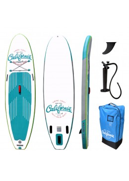 California 10.6 Gonflable fusion turquoise