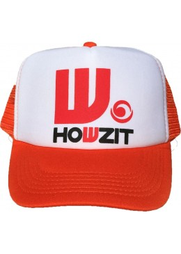 Casquette howzit orange